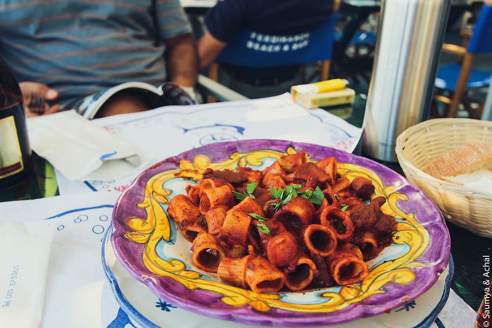 Squid Pasta @Da Ferdinando