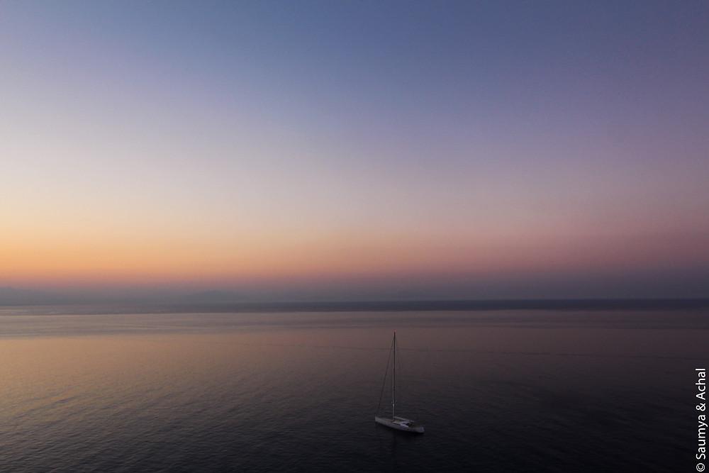 Sunrise @ La Ninfa, Amalfi
