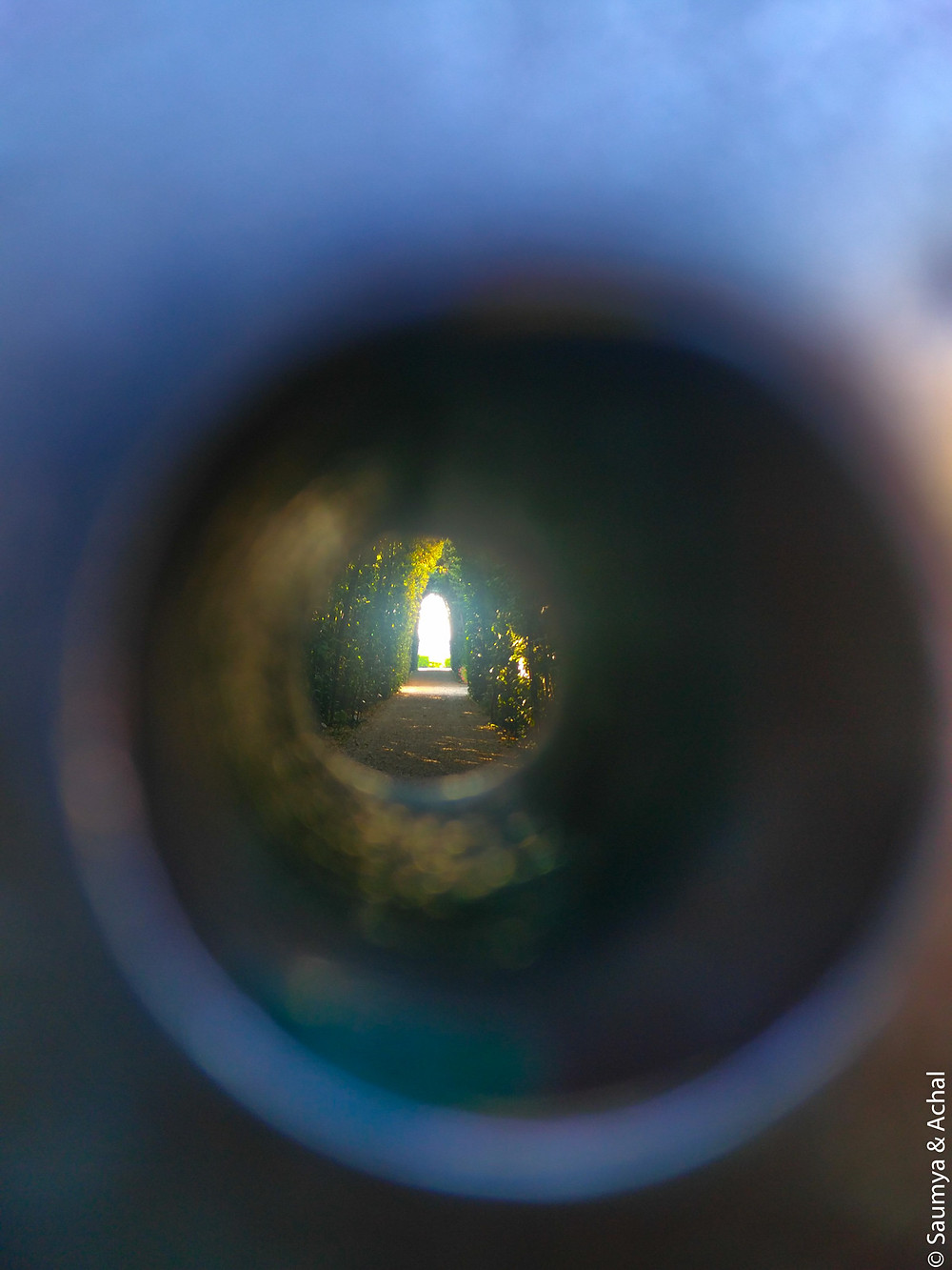 Keyhole @ Aventine Hill, Rome