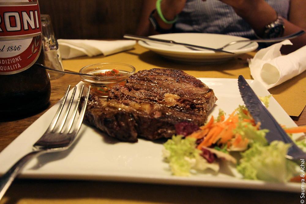 Argentine Steak @ Monticiani, Monti, Rome