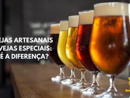 Cervejas artesanais e cervejas especiais: qual é a diferença?