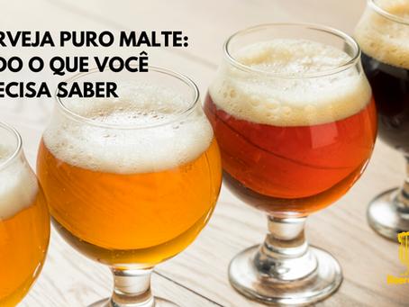 Cerveja Puro Malte: Tudo o que você precisa saber