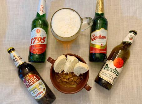 As cervejas tchecas