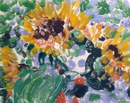 Sunflower Impressions   $425