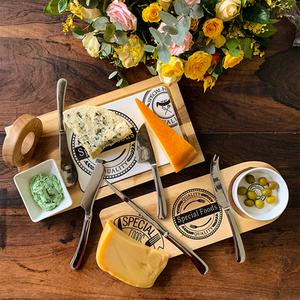 Conjunto de facas para queijo Oxford - Cod.: 80650 - 9986