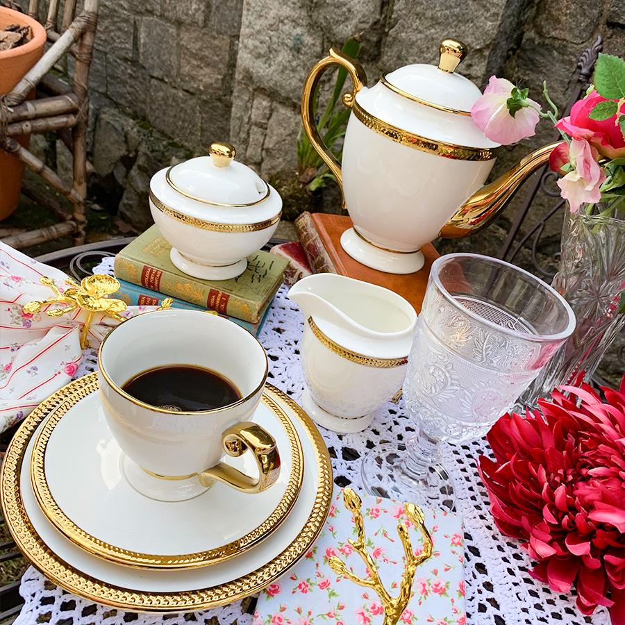 Conjunto para café e aparelho de jantar da linha Paddy - Cod.: 25114 - 17207