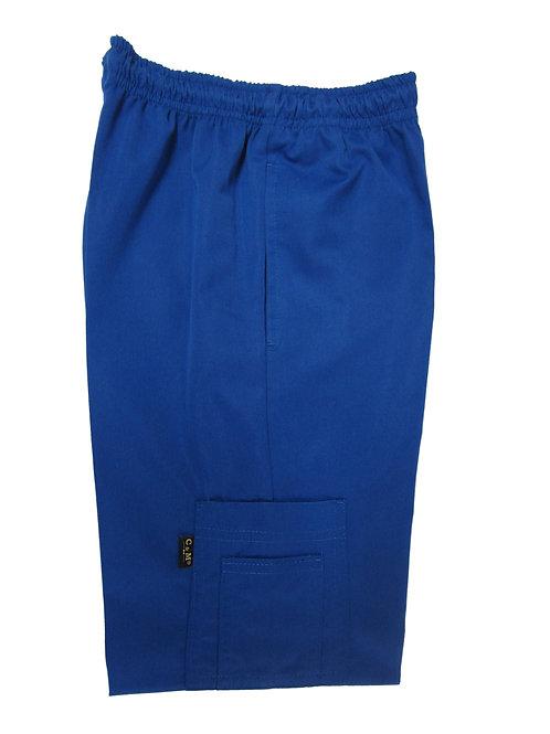 Pantalón modelo Resorte con Bolsillo al costado Azul Rey