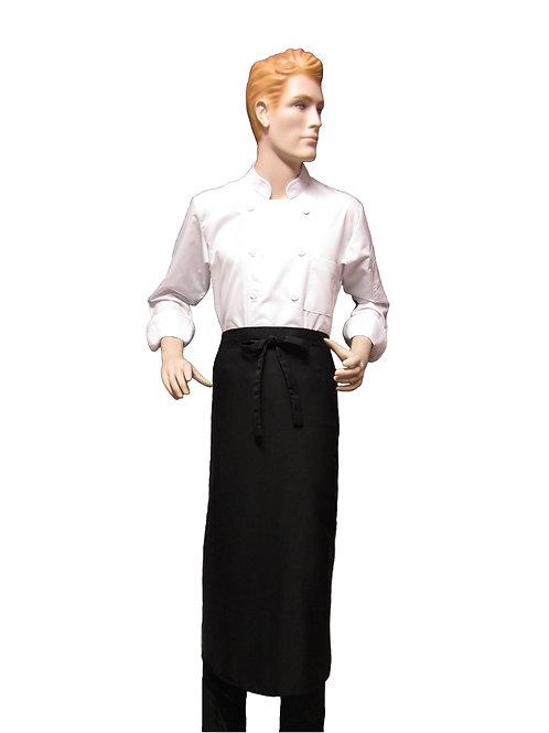 Mandil Cintura Chef negro 90x90