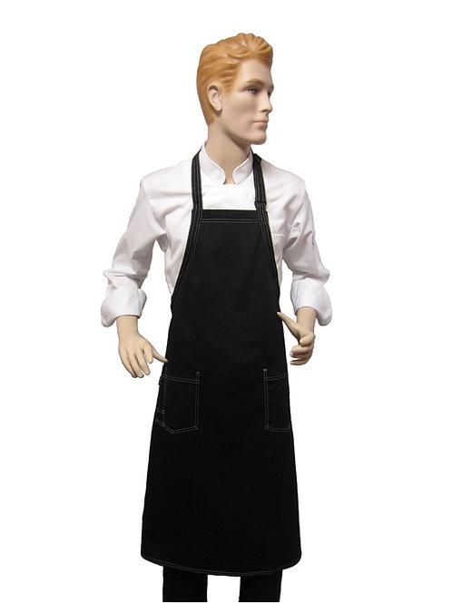 Mandil Panadero Chef pechero 100% algodon