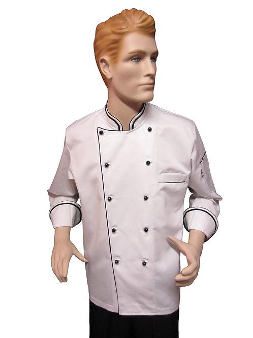 Chaqueta de Chef Modelo Doble Vivo