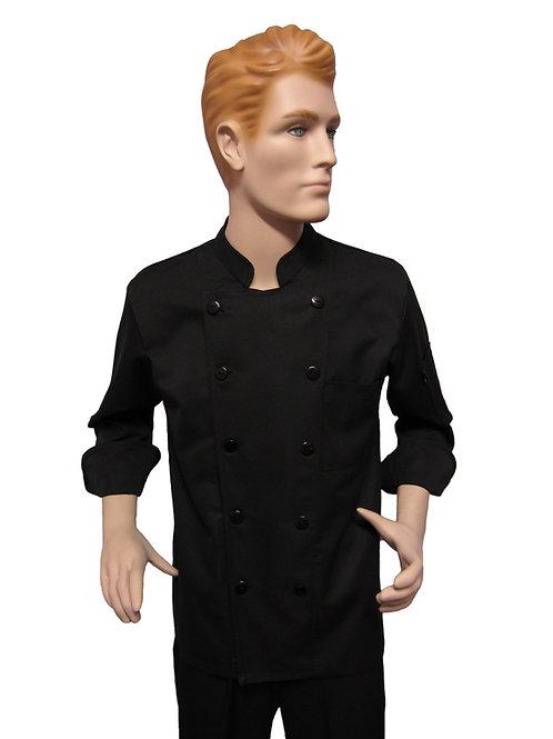 Chaqueta de Chef Clasica Hombre negra