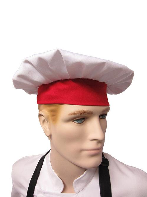Gorro de Chef tipo Hongo