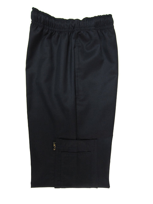 Pantalón modelo Resorte con Bolsillo al costado Negro