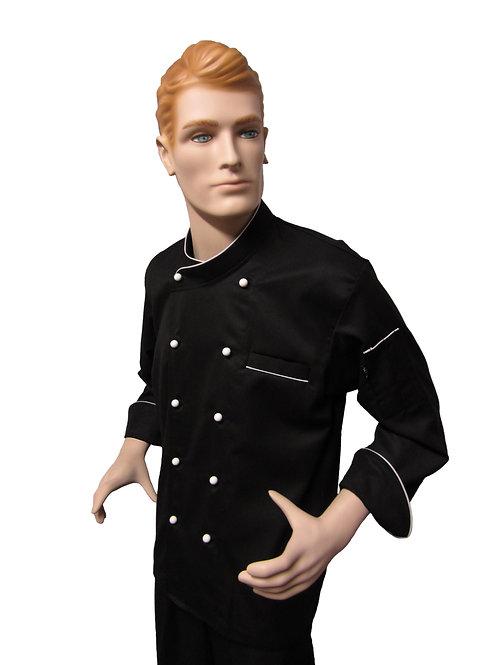 Chaqueta de Chef Modelo Cuello Cruzado.