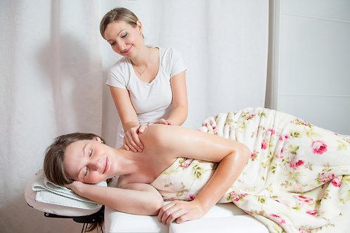 Poporodní masáž a bylinkové péče o yoni - 90 až 120 minut