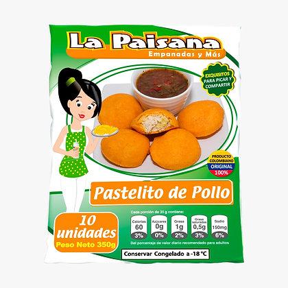 PASTELITO DE POLLO X 10 UND