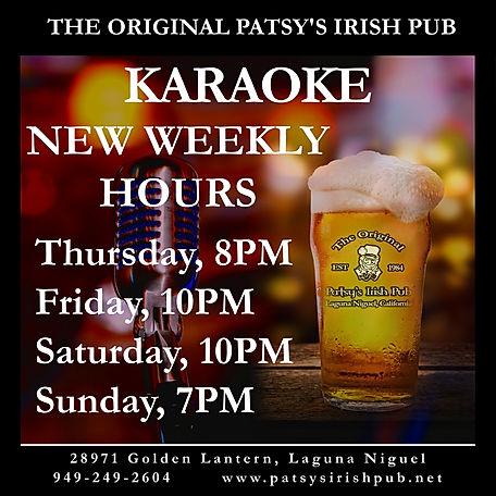Karaoke New Weekly Hours, 09192020-1.jpg