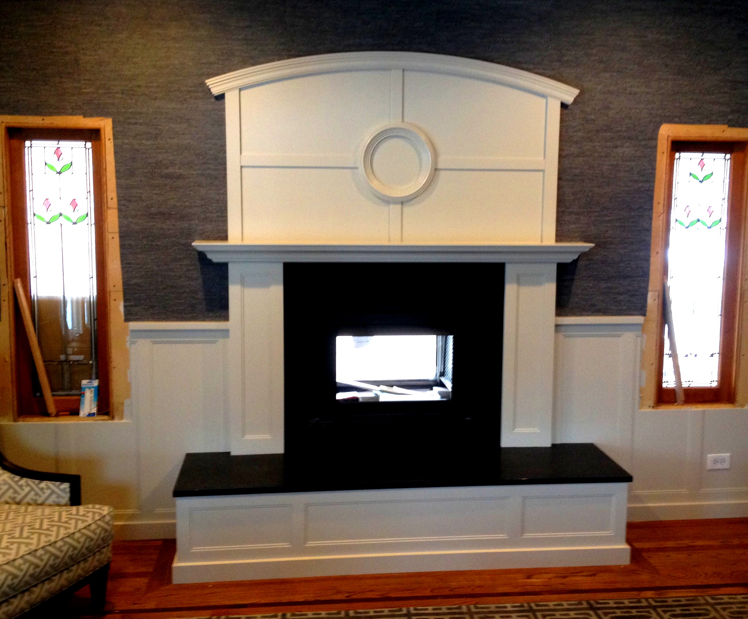 Customized Fireplace Surround Mantel