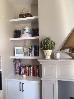 Fireplace Surround Mantel Built-ins