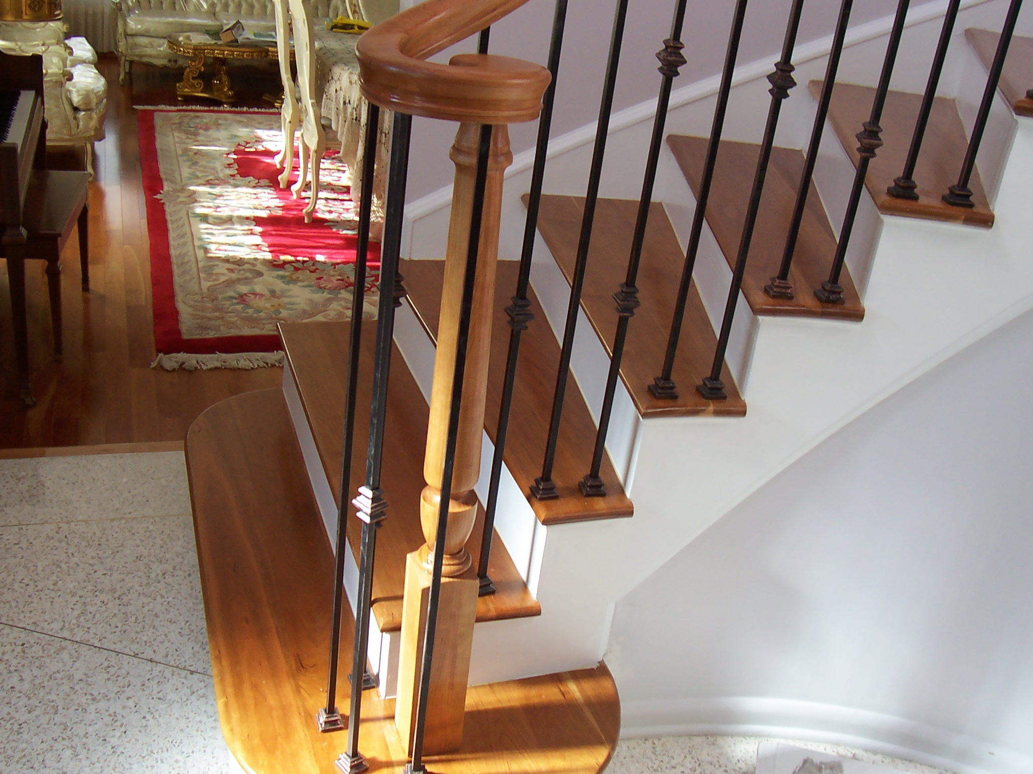 Customized Banister Stairway Railing