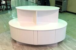 Handmade Oval Cabinet