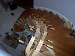 Custom Curved Stairways