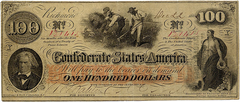 """Slaves Hoeing Cotton,"" Confederate State of America, 1862"