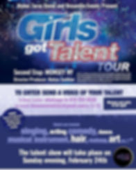 "The first ""Girls got talent"" show was su"