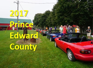 Price Edward County Cruise Sept 19th-21st