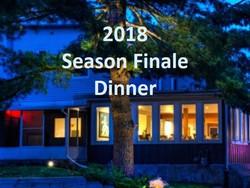 Season Finale Dinner 2018