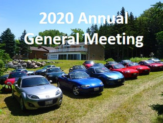 SAVE THE DATE for Spring AGM 2020