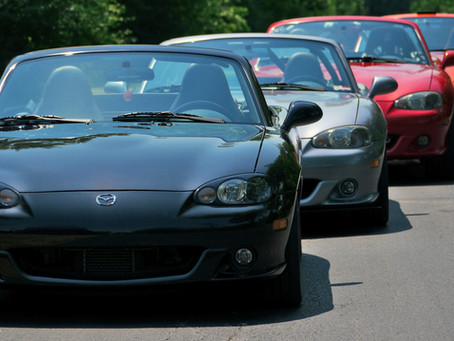 "This week's ""Did you Know?"" fact about Canadian Mazdaspeed Miatas"