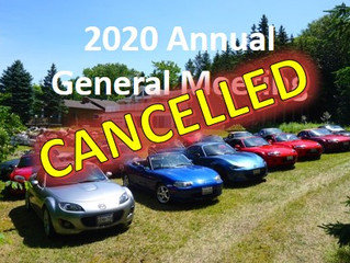 Spring AGM 2020 - Cancelled
