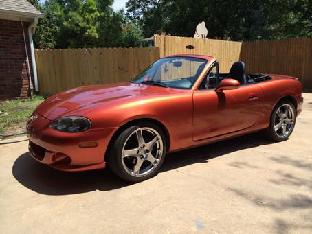 Lava Orange Mazdaspeed Update