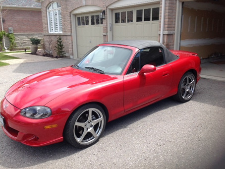 """This week's """"Did you Know?"""" fact about Canadian Mazdaspeed Miatas"""