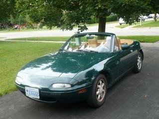 For Sale - 1991 BRG Miata