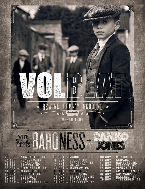 Volbeat announce new Album, Video and Tour!