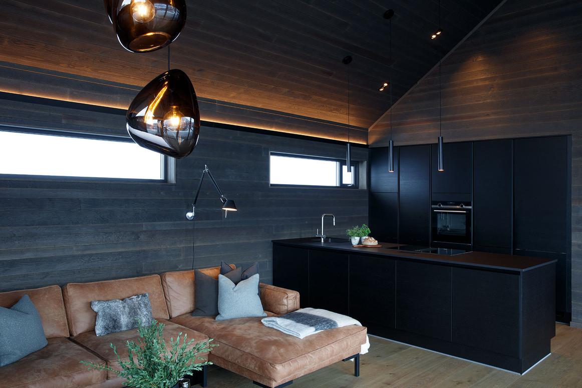 Lysplanlegging av hytte