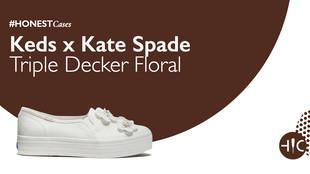 Case Study - Keds x Kate Spade Triple Decker Floral