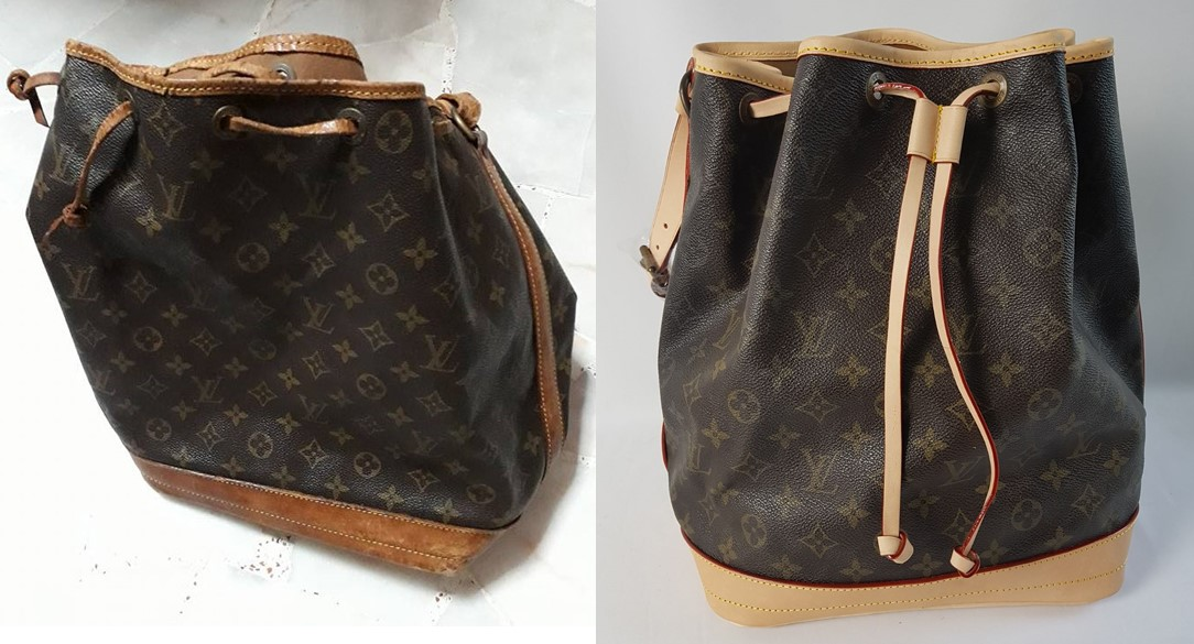 LV Bag Leather Replacement