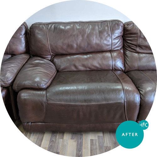 Brown Leather Sofa Leather Restoration