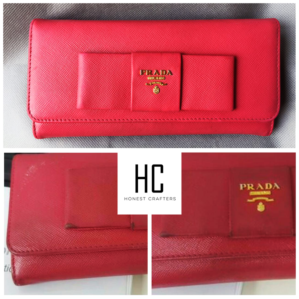 Prada Wallet Colour Touch Up