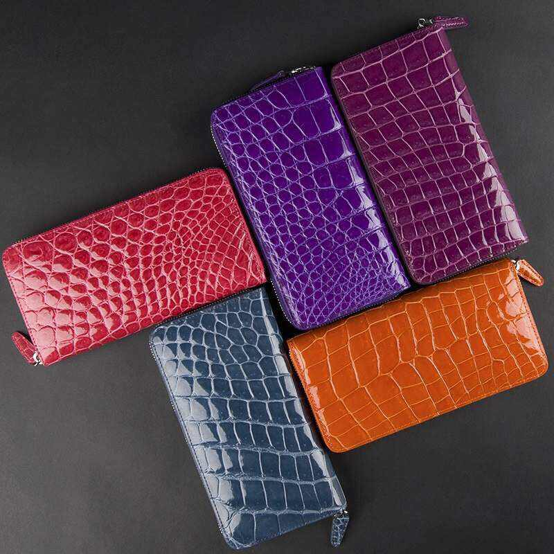Croc Belly Purses