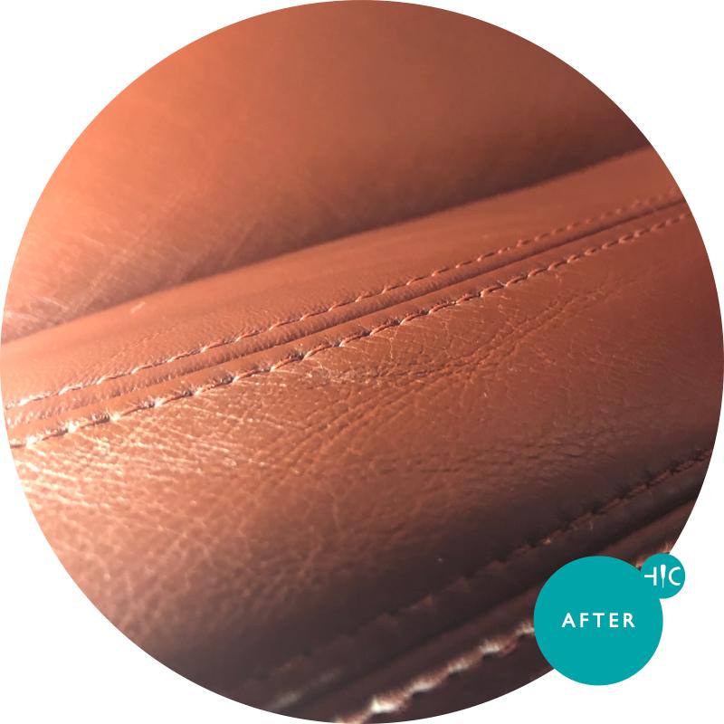BMW M3 Carseat Leather Restoration