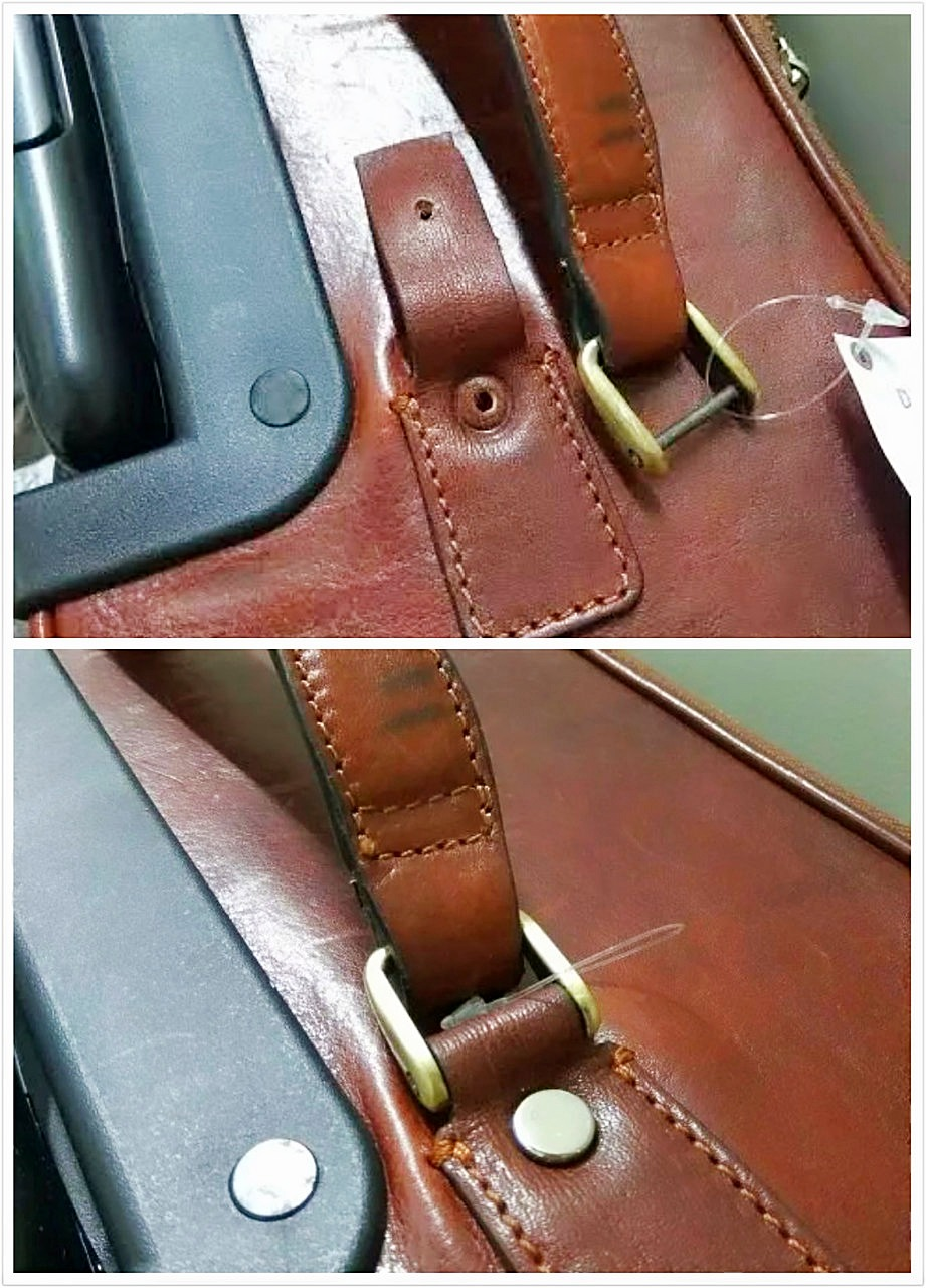 Luggage Broken Handles