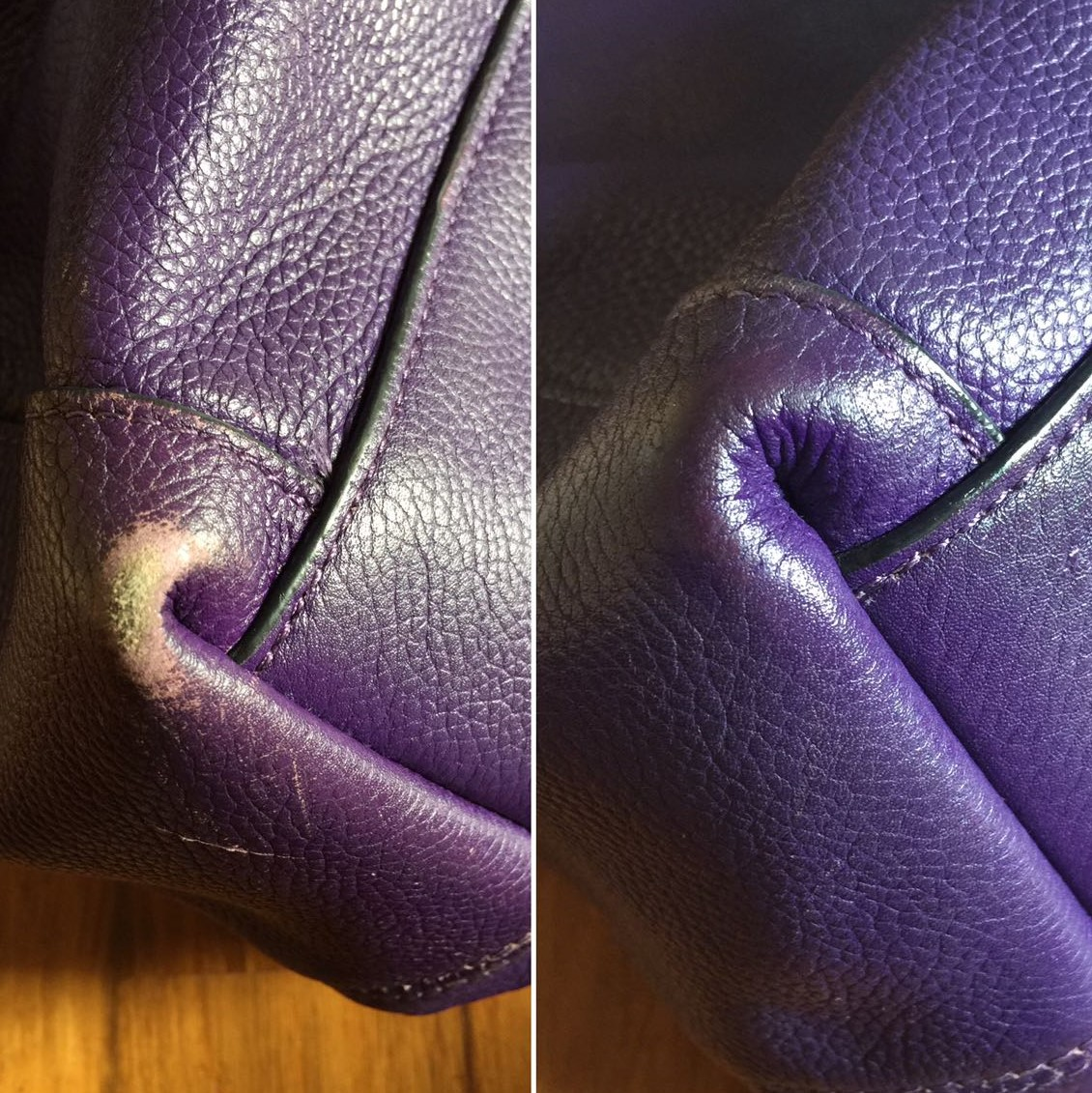 Leather Bag Colour Touch Up