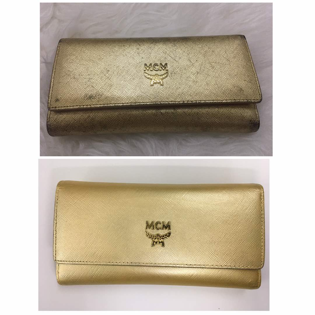 Wallet Metallic Colour Restore