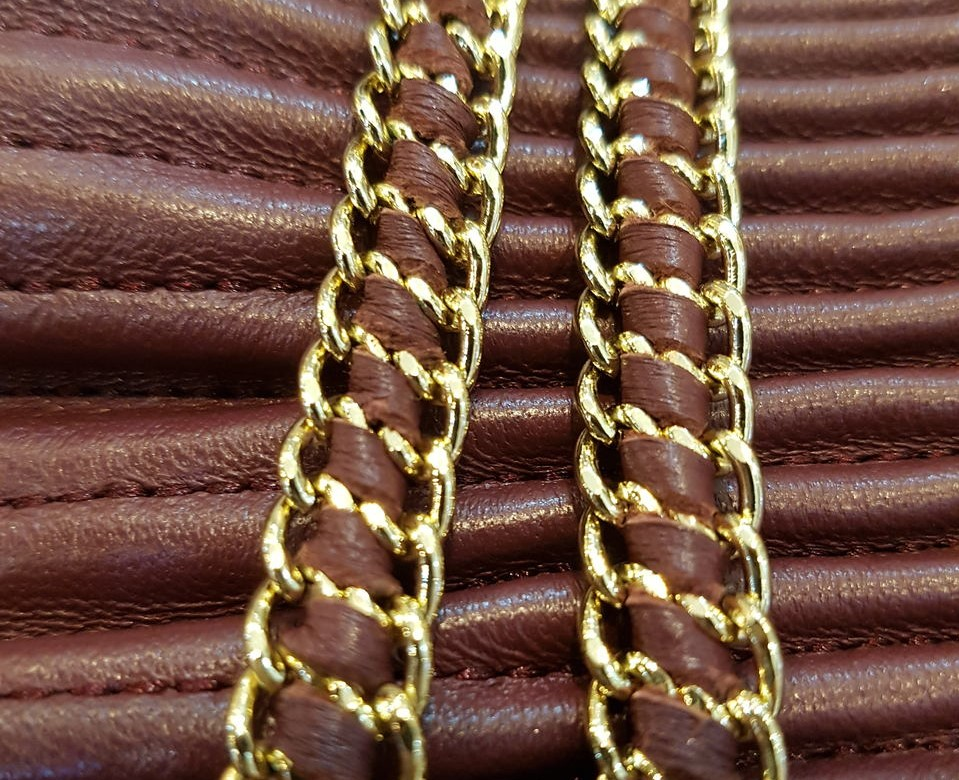 Leather infused chains