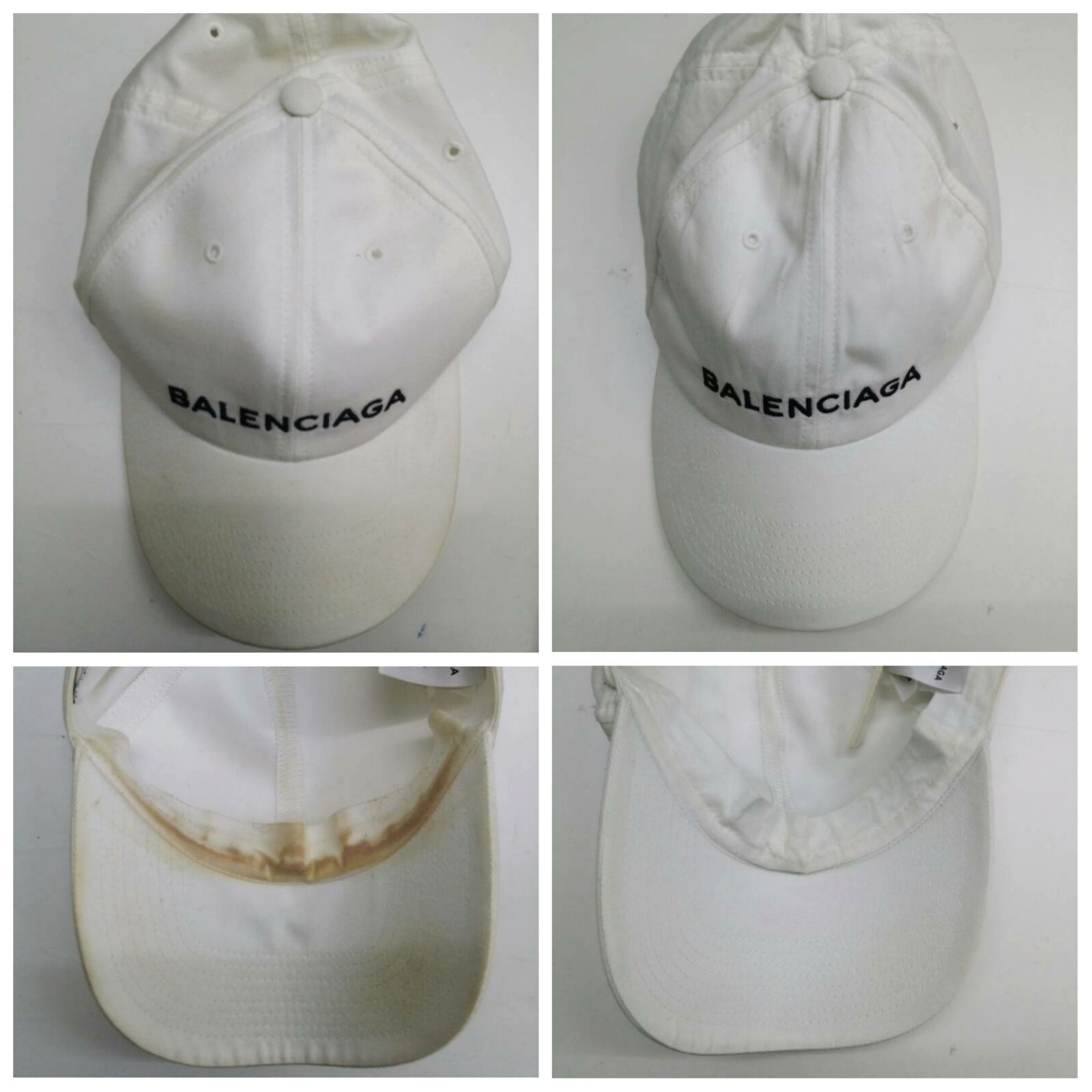 Balenciaga Cap Cleaning