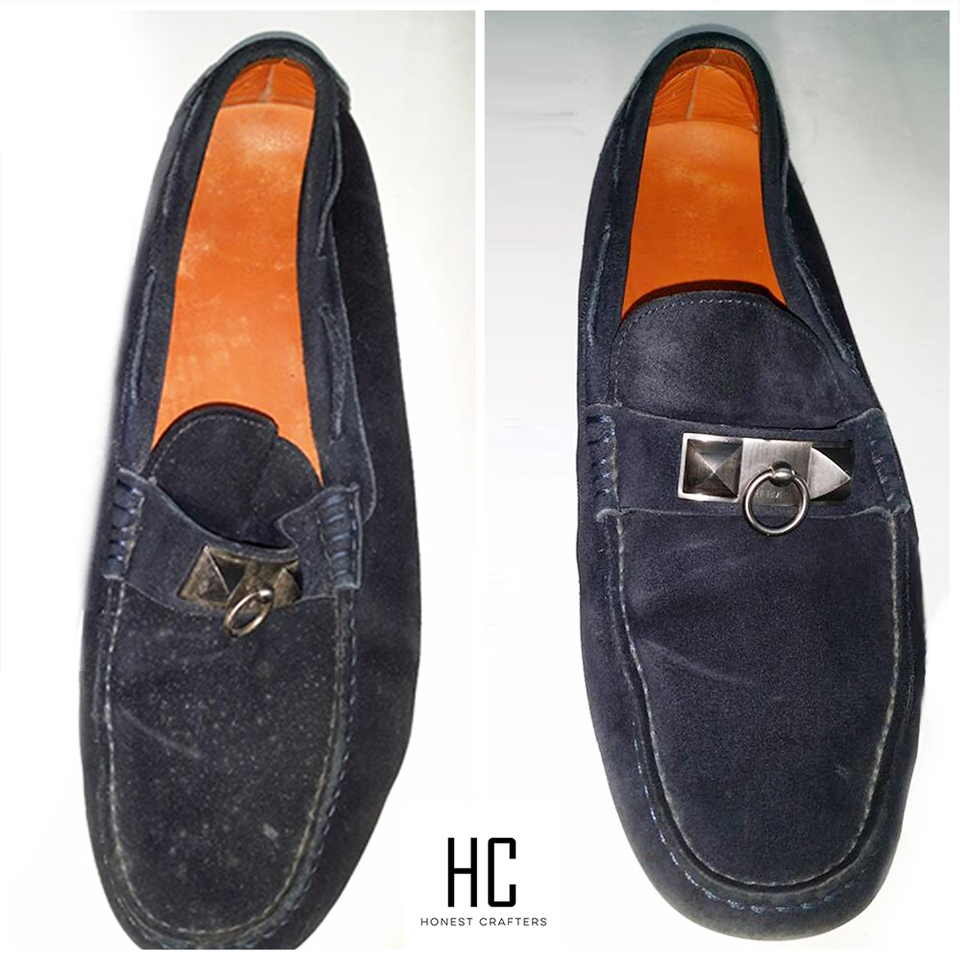 Men Loafers Cleaning
